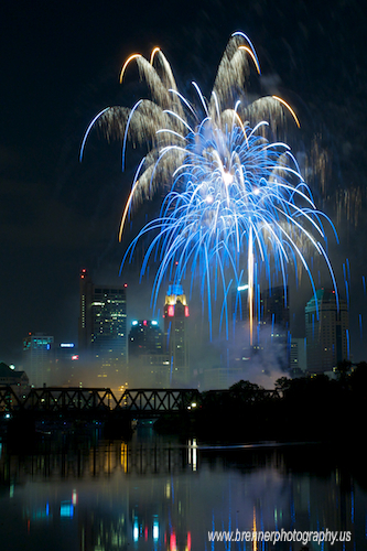 Fireworks.  Red, White and BOOM! 2009 by WB - CMH