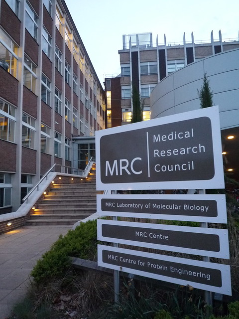 The original MRC Laboratory of Molecular Biology (LMB)