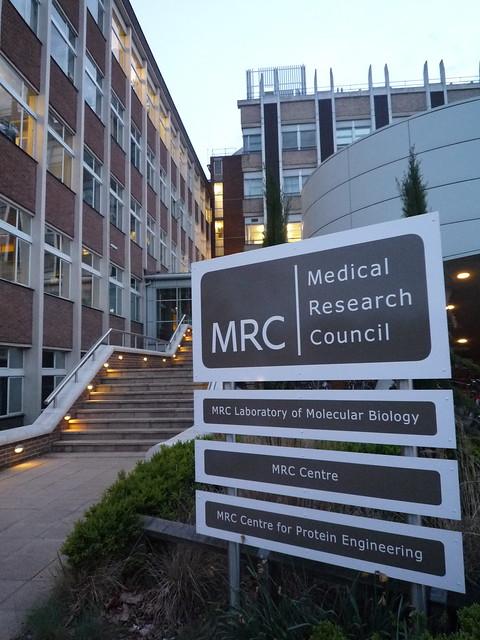 The original MRC Laboratory of Molecular Biology (LMB)