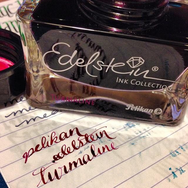 Pelikan Edelstein Turmaline #fountainpens #inks #inkporn #tasteit