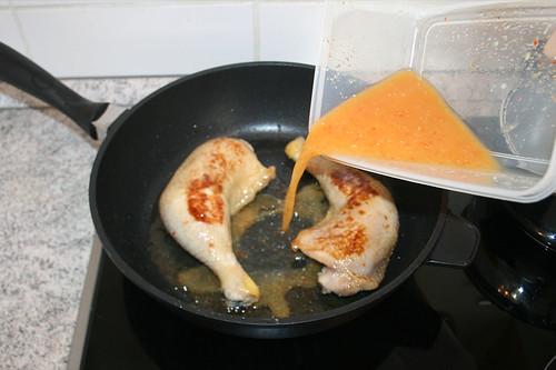 27 - Marinade dazu geben / Add marinade