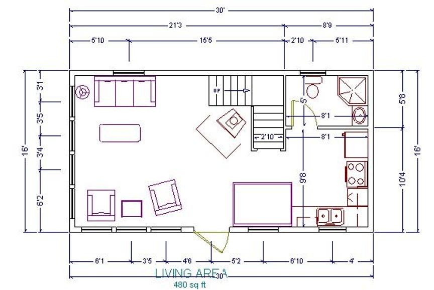 16x24 Floor Plans : Cabin plans joy studio design gallery best