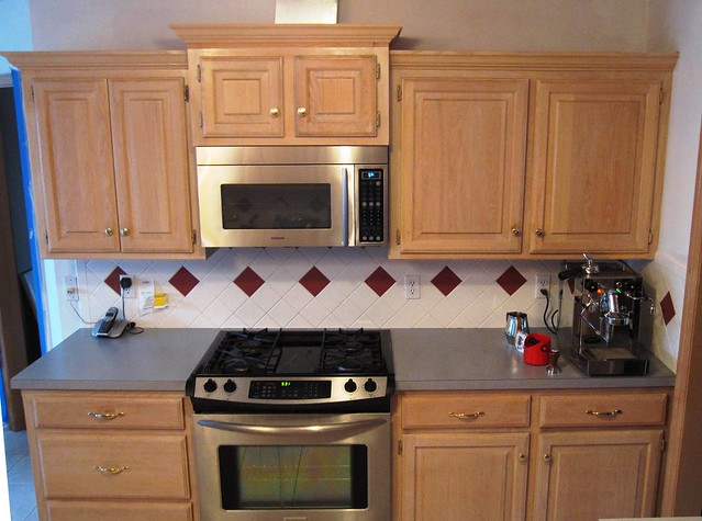 Upper kitchen cabinets direct view flickr photo sharing for Kitchen cabinets upper