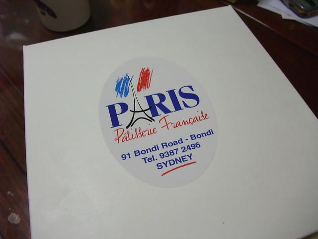 Paris Cake Shop  Bondi Road