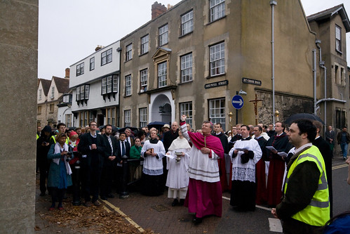 Blessing of plaque