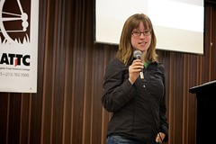 Eleanor Blue Of BikePortland.org, Portland Oregon