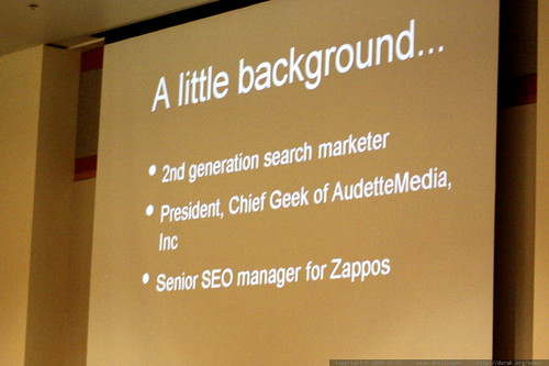 slide: a little background   Building and Growing Your SEM Biz   sempdx searchfest 2009    MG 9980