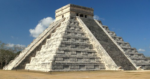 Frank Kovalchek's photo of El Castillo at Chichén Itzá.