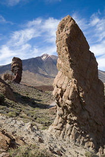 Image of  Roque cinchado. teide cinchado