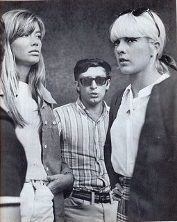 francoise hardy - sylvie vartan - estate 1967 - milano