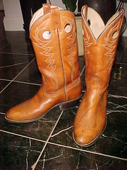 orange, footwear, shoe, cowboy boot, tan, riding boot, boot,