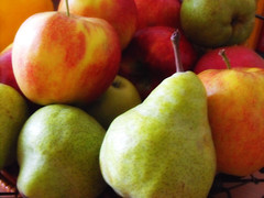 pear, produce, fruit, food, apple,