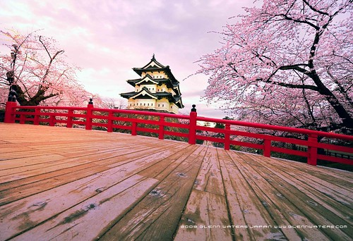 Hirosaki Castle Japan © Glenn Waters (Explored) Over 4,000 visits to this photo. Thank you.
