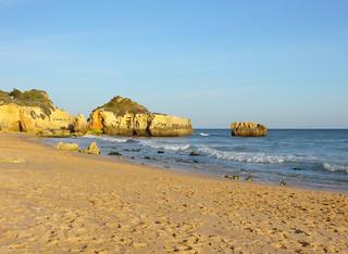 Image of Praia dos Alemães. portugal algarve albufeira