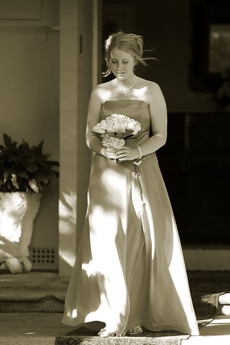 Bridesmaid 2a, duotone