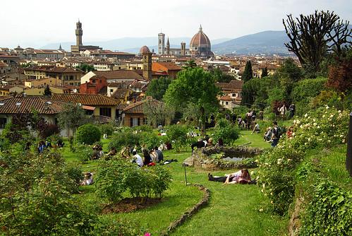 Weekend a firenze parchi e giardini a firenze - Il giardino delle rose ...