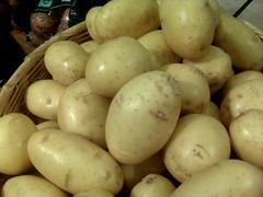 fruit(0.0), common bean(0.0), gourd(0.0), vegetable(1.0), potato(1.0), produce(1.0), food(1.0), root vegetable(1.0),