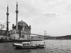 Istanbul Bosphorus Bridge Mosque
