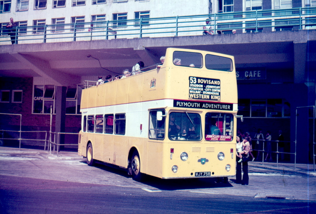 Plymouth City Transport WJY758