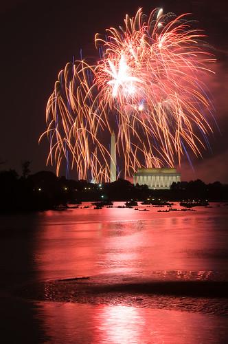 virginia dc washington districtofcolumbia fireworks capital capitol va potomac rosslyn 4thofjuly independenceday mountvernontrail lincon