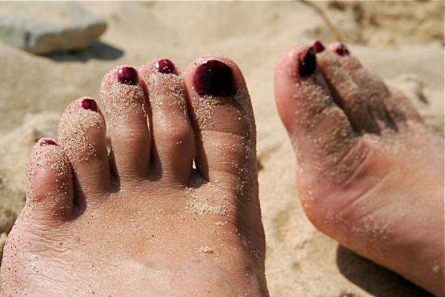 Fresh air for feet - foot health
