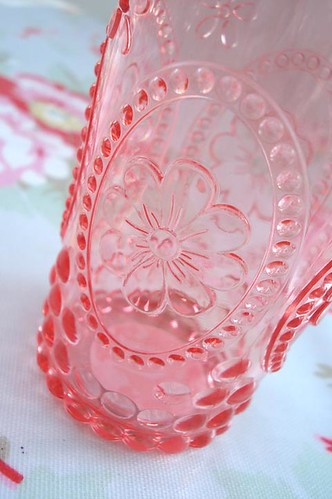 Pink Glass Detail