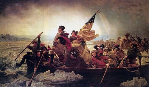 Leutze, Emanuel (1816-1868) - 1851 Washington Crossing the Delaware, Metropolitan Museum of Art NYC