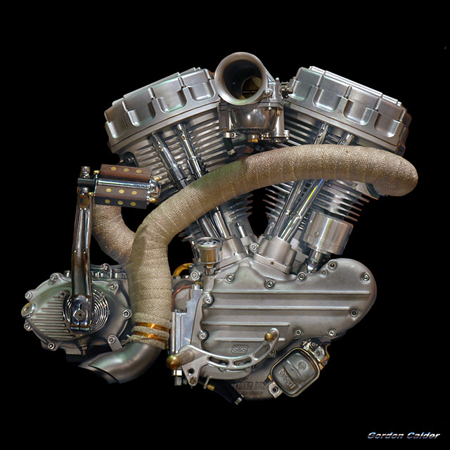 NO 15: Iron Pit / Frank van Geffen Panhead MOTORCYCLE Engine