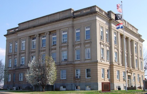 1920s mo missouri 1928 poplarbluff courthouses butlercounty countycourthouses usccmobutler