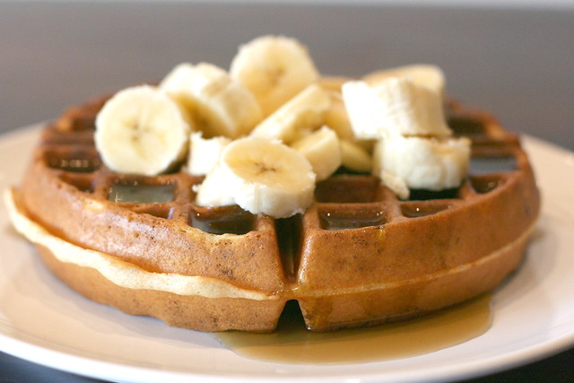 Banana waffles | Flickr - Photo Sharing!