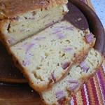 Cake mit Cheddarkäse, Schinken, Bier und Senf