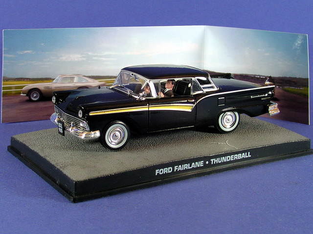 les voitures de james bond 007 ford fairlane op ration tonnerre flickr photo sharing. Black Bedroom Furniture Sets. Home Design Ideas