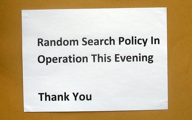 Random search