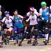 Cincinnati Rollergirls Silent Lambs vs. Windy City Rollers Nadabees, 2009-04-11