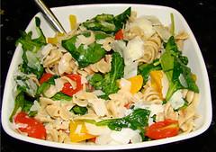 produce(0.0), pad thai(0.0), meal(1.0), pasta salad(1.0), salad(1.0), vegetable(1.0), italian food(1.0), food(1.0), dish(1.0), cuisine(1.0),