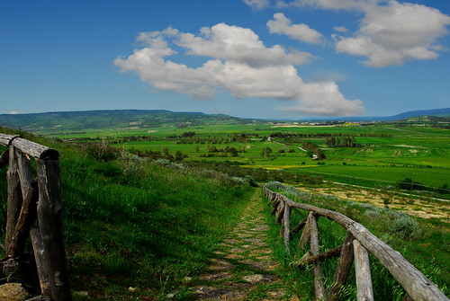green rural landscape countryside sardinia path castello difesa lasplassas bestcapturesaoi yourwonderland castrummarmillae elitegalleryaoi