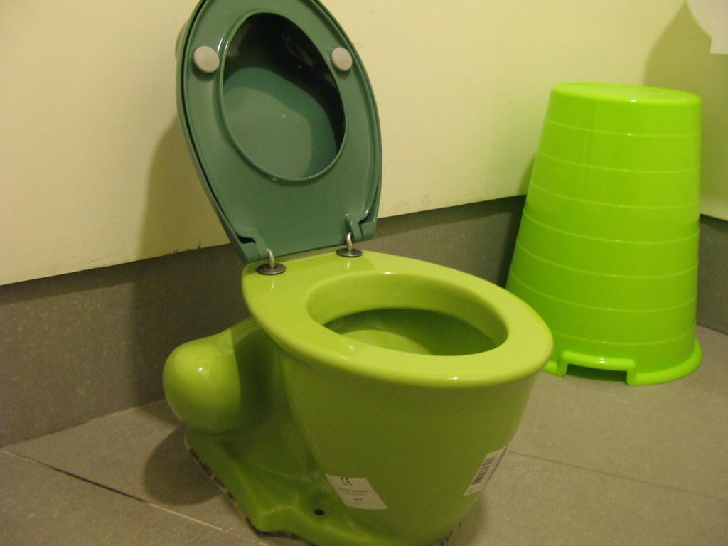 20090409-绿色青蛙马桶