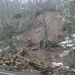 Landslide, Highway 508 MP 21.2, Bear Creek Canyon, Lewis County