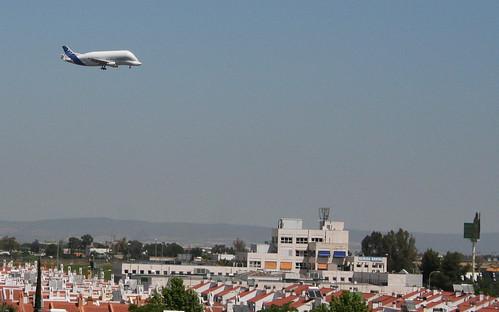 Airbus Beluga in Seville!
