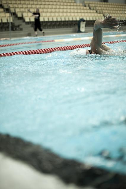 Swim training 25 flickr photo sharing for Garden training pool