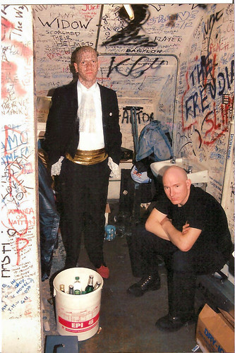 Enigma and Tube Backstage, Europe
