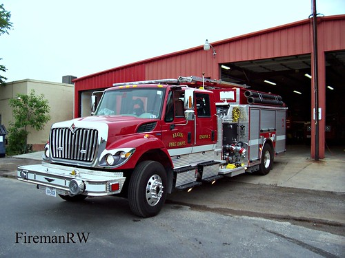 engine firetruck international pierce pumper contender