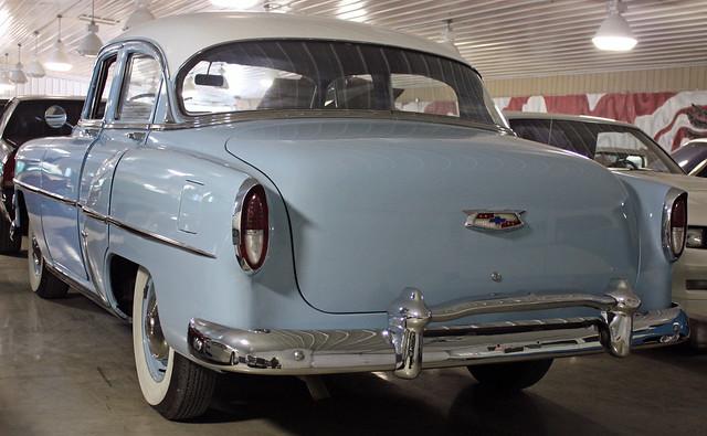 1954 chevrolet deluxe 210 4 door sedan 2 of 2 flickr for 1954 chevy 210 2 door