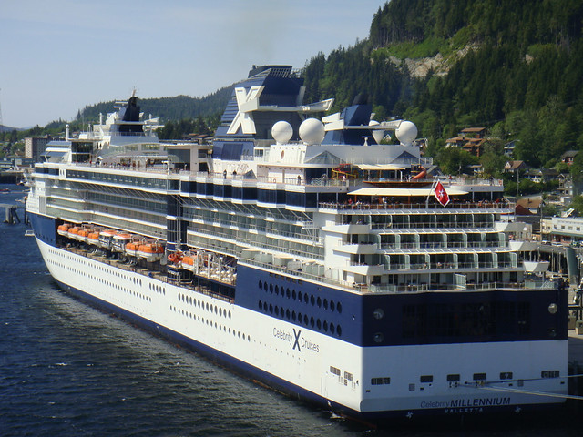 Celebrity Millennium Alaska Cruise Ship Tour