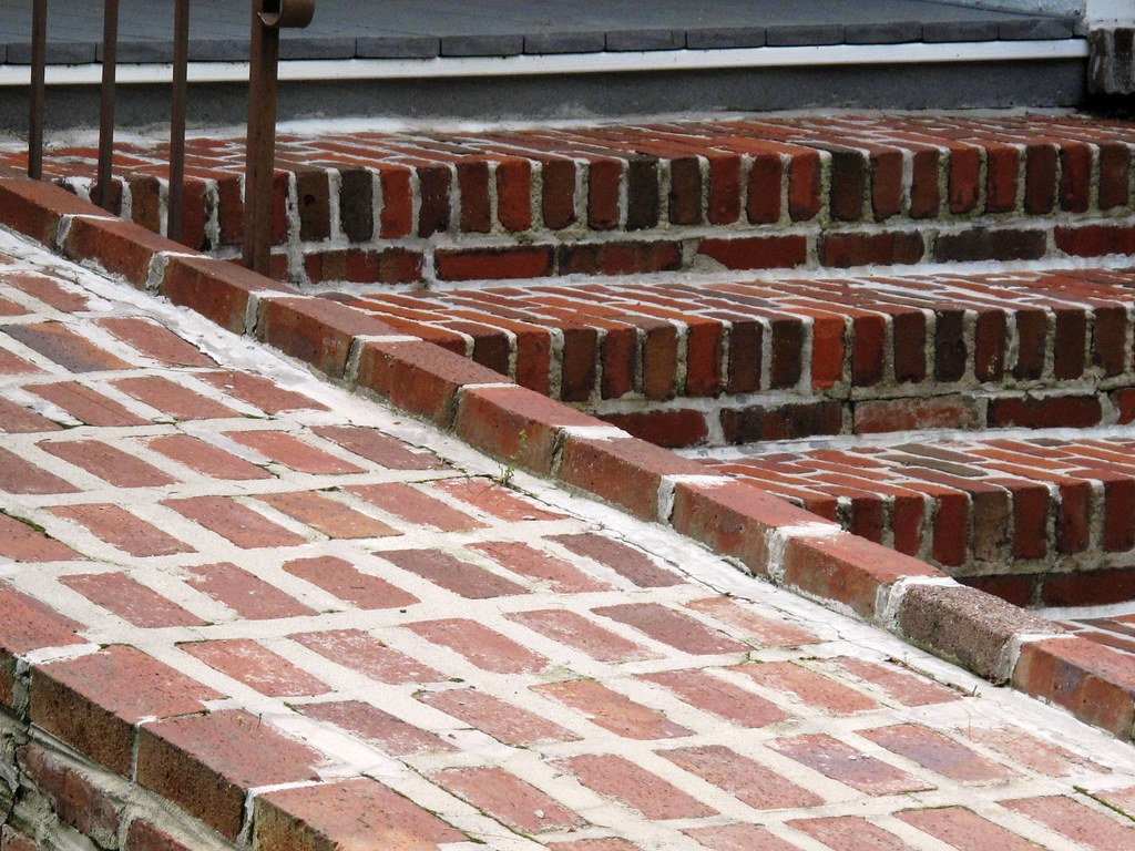 Wheelchair Ramp I Have Never Seen A Brick One Anywhere Els