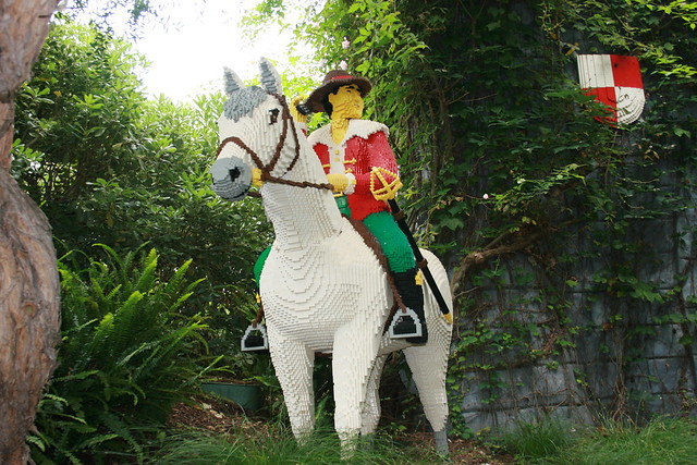Prince Charming on his White Horse | Louis and I visited ...