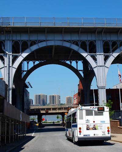 M087 Riverside Drive Viaduct over West 132 Street, Manhattanville, New York City