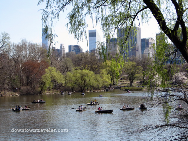 NYC Central Park boats