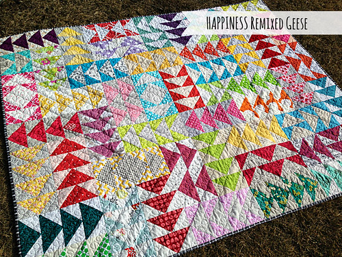 HAPPINESS Remixed Geese finished