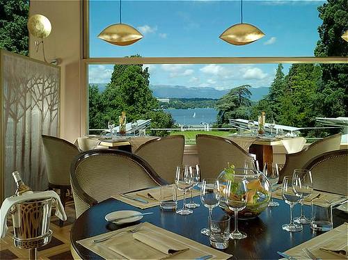 Restaurant Hôtel du Parc des Eaux-Vives, brasserie